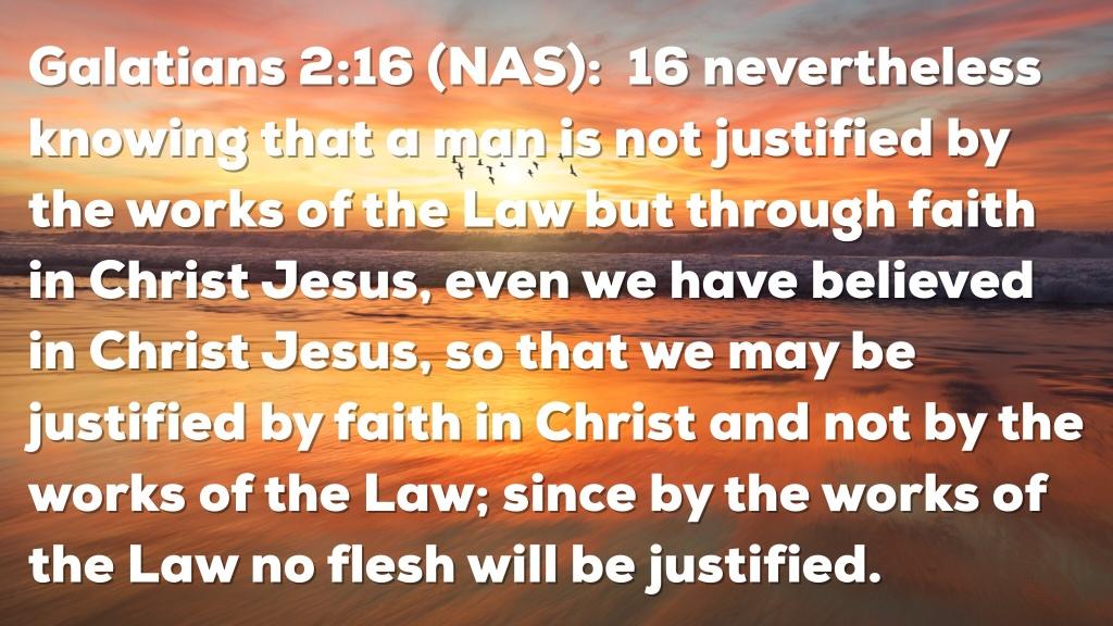 Galatians 2:16